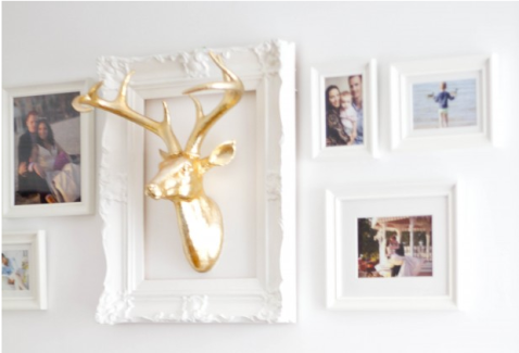 DIY How To: All White Gallery Wall