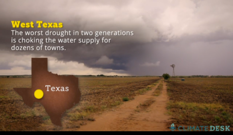 In some West Texas and South Texas counties - almost invariably drought-stricken counties - fracking accounts for 10 to 25 percent of water sources.