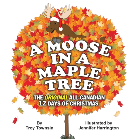 My first published book as an illustrator, A Moose in a Maple Tree, was copied by Scholastic. Ironically, this is what truly kickstarted my publishing career.