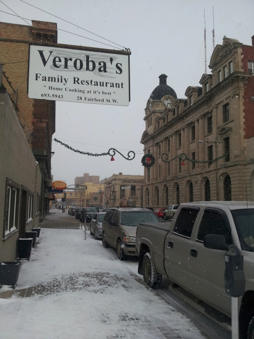 Good home-cooking at Veroba's in Moose Jaw