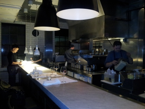 Our ethical Calgary dinner spot, Model Milk on 17th