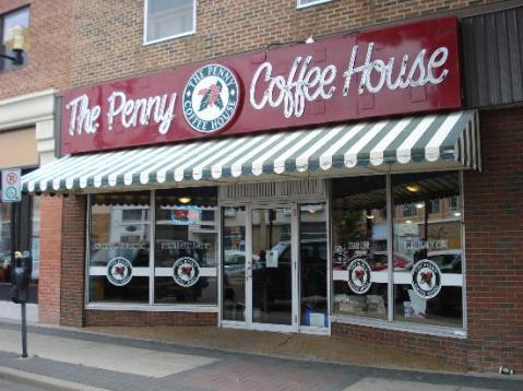 'The Penny' coffee-house in Lethbridge, home to great homemade eats.